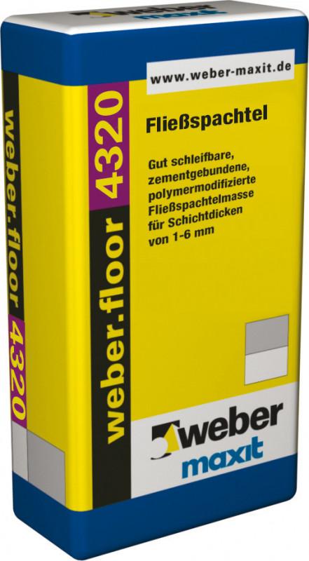 Weber floor 4320