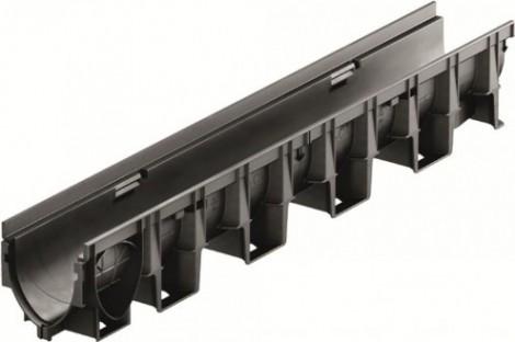 ACO XtraDrain - Odvodňovací žlab bez spádu dna, 1000 mm X 100 C 1000 x 138 x 150 mm