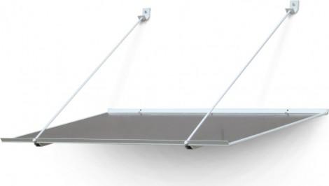 Vchodová stříška Gutta SP1 Ekonom 1200 x 700 x 200 mm
