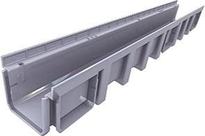 Nicoll Odvodňovací žlab 130mm 1000x136x105