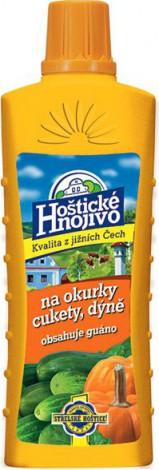 Hoštické hnojivo Na okurky, cukety a dýně s guánem 500 ml (tekuté)