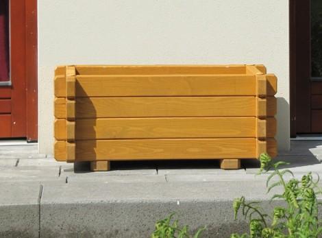 Dřevěný truhlík K4 34,5 x 94 x 60 přírodní