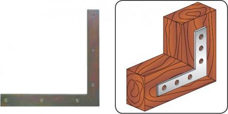 Rohový úhelník Koelner D-KN D-KN-150 150x150x25 mm