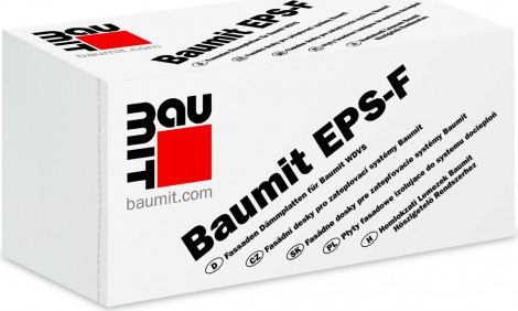Fasádní polystyren Baumit EPS-F 40 mm 40 x 1000 x 500 mm