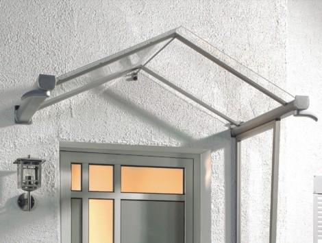 Vchodová stříška Guttavordach GV/T 160 x 90 cm - bílá 160 x 90 cm bílá