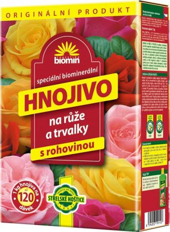 Forestina Biomin Hnojivo na růže a trvalky