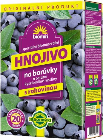 Forestina Biomin Hnojivo na borůvky