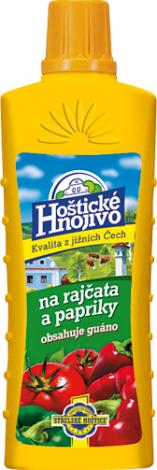 Hoštické hnojivo Na rajčata a papriky s guánem 500 ml (tekuté)