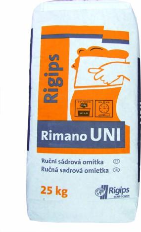 Tenkovrstvá sádrová omítka Rigips Rimano UNI 25 kg