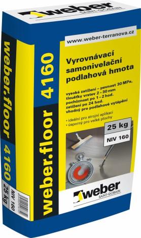 Samonivelační stěrka weber cz 460