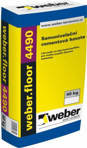 Samonivelační hmota Weber.floor 4490