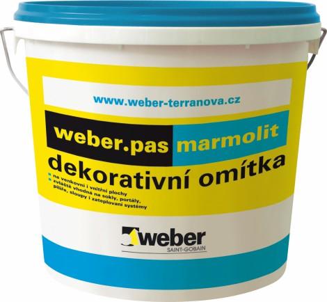 Dekorativní omítka Weber Marmolit Jemnozrnný 20