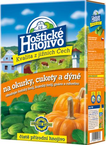 Hoštické hnojivo Na okurky, cukety a dýně 1 kg