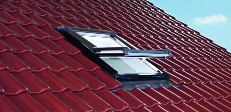 Střešní okno Roto Designo WDF R45 K W WD 7/9 74 x 98 cm plastové bílé