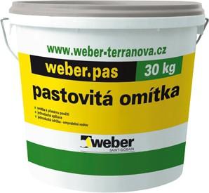 Vnitřní omítka Weber.pas deco zrnitý 1,0 mm