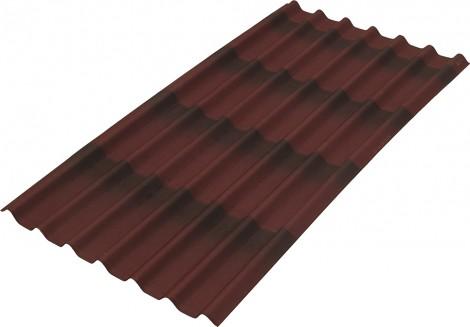 Střešní deska vlnitá bitumenová Onduline ONDULINE Tile 7vln 1960 x 195 mm