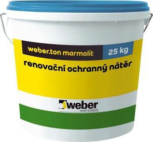 Fasádní nátěr Weber.ton marmolit 15 kg