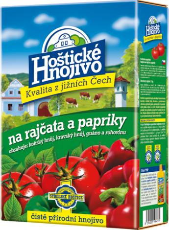 Hoštické hnojivo Na rajčata a papriky 1 kg