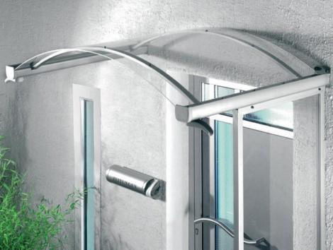 Vchodová stříška Guttavordach BV/B 160 x 90 cm - bílá 160 x 90 x 25 cm bílá