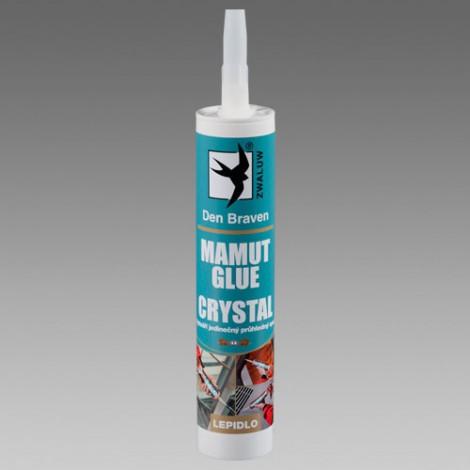 Lepidlo Den Braven Mamut Glue Crystal 290 ml