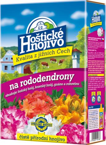 Hoštické hnojivo Na rododendrony a azalky 1 kg