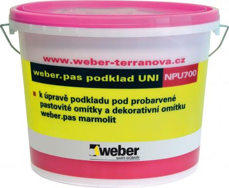 Penetrace Weber.pas podklad UNI 1 kg