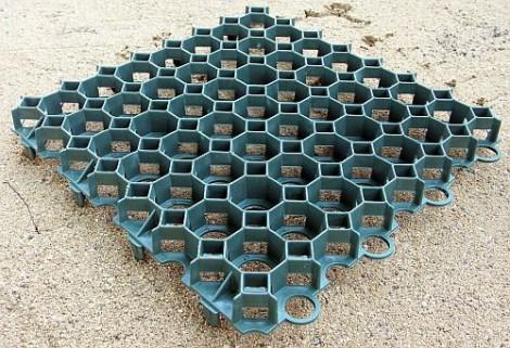 Zatravňovací dlaždice 500 x 500 x 40