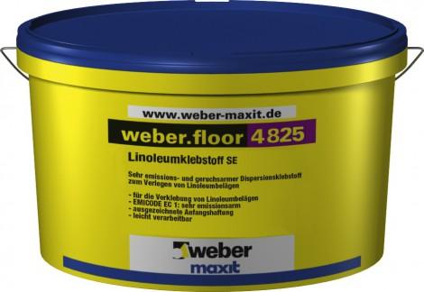 Disperzní lepidlo pro linolea Weber.floor 4825
