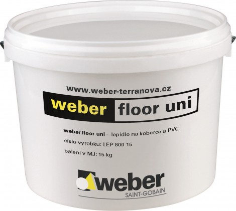 Disperzní lepidlo pro podlahoviny Weber.floor uni