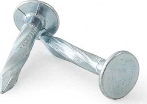 Gutta Hřebíky k šindelům Kroucené, pozinkované 25 x 3,5 mm stříbrná
