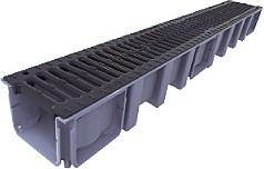 Nicoll Odvodňovací žlab s litinovou mříží B 125 200mm 1000x208x143