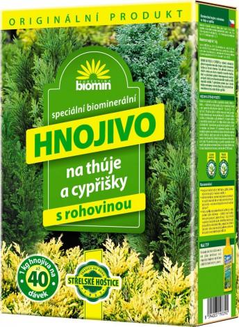 Forestina Biomin Hnojivo na thúje a cypřišky 1 kg