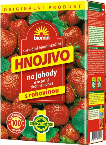 Forestina Biomin Hnojivo na jahody 1 kg