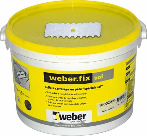 Lepící tmel Weber.fix sol 8 kg