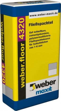 Samonivelační hmota Weber.floor 4320