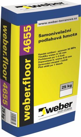 Samonivelační cementová hmota Weber.floor 4655
