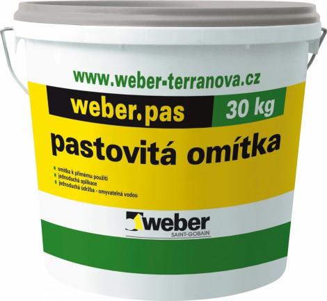 Weber pastovitá omítka